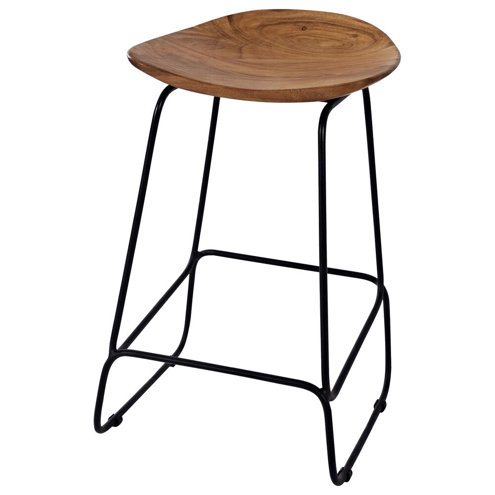 Waltham Nature's Edge Backless Stool in Natural, , large