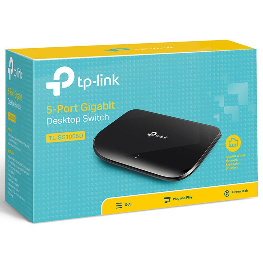 TP-LINK 5-Port Unmanaged Gigabit Desktop Switch, , large