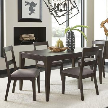 Urban Home Bryce 5-Piece Dining Set in Brown Horse, , large