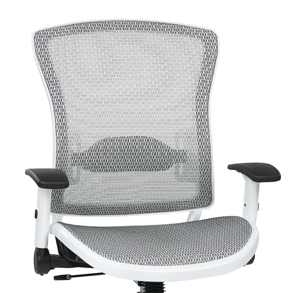 OSP Home Pulsar Manager Chair in White, , large