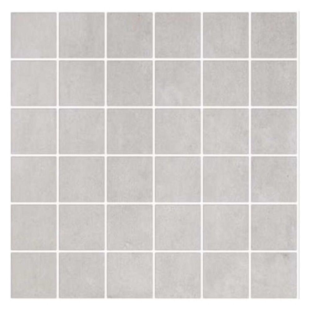 "Eleganza Firenze Bianco 12"" x 12"" Mosaic Porcelain Tile, , large"