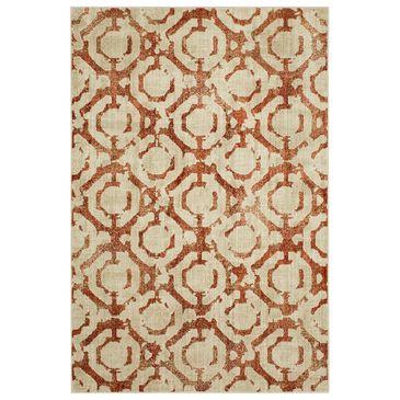 Scott Living Expressions Motif 91823-20048 2' x 3' Ginger Scatter Rug, , large