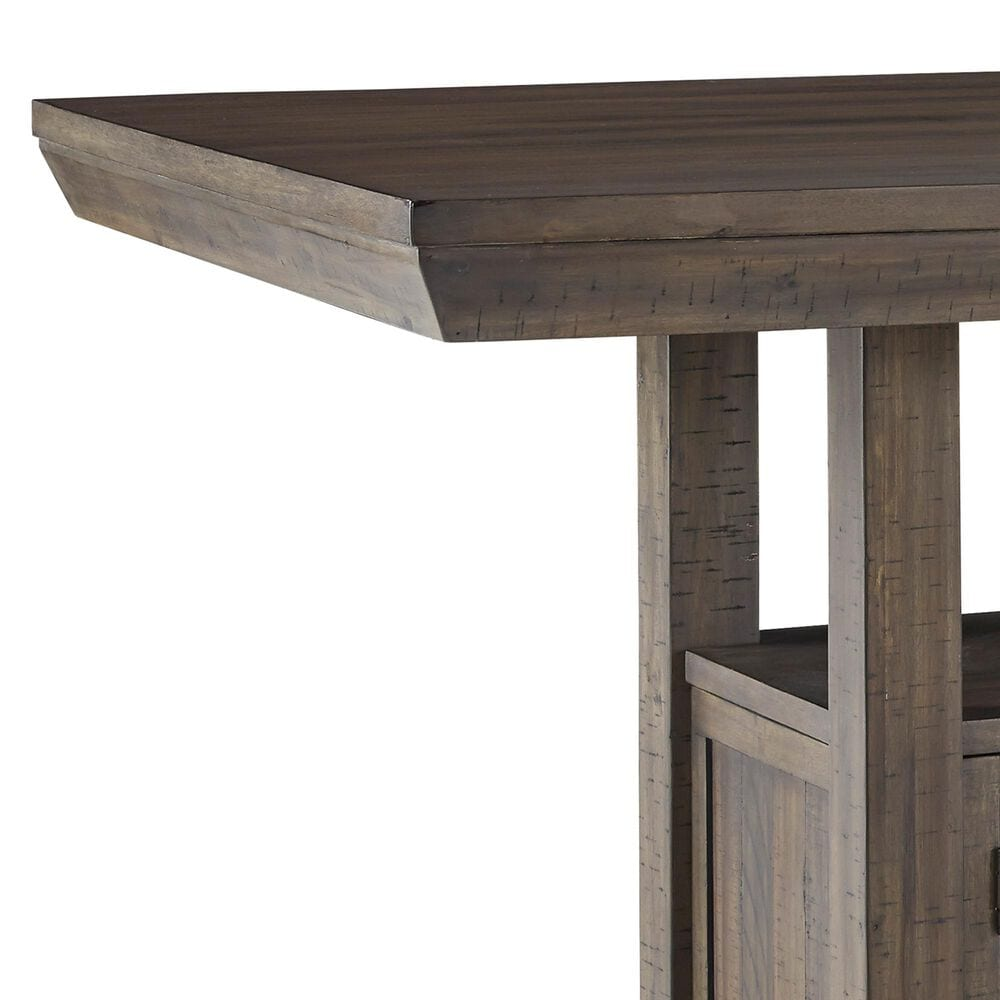 Signature Design by Ashley Johurst 6-Piece Counter Dining Set in Grayish Brown, , large