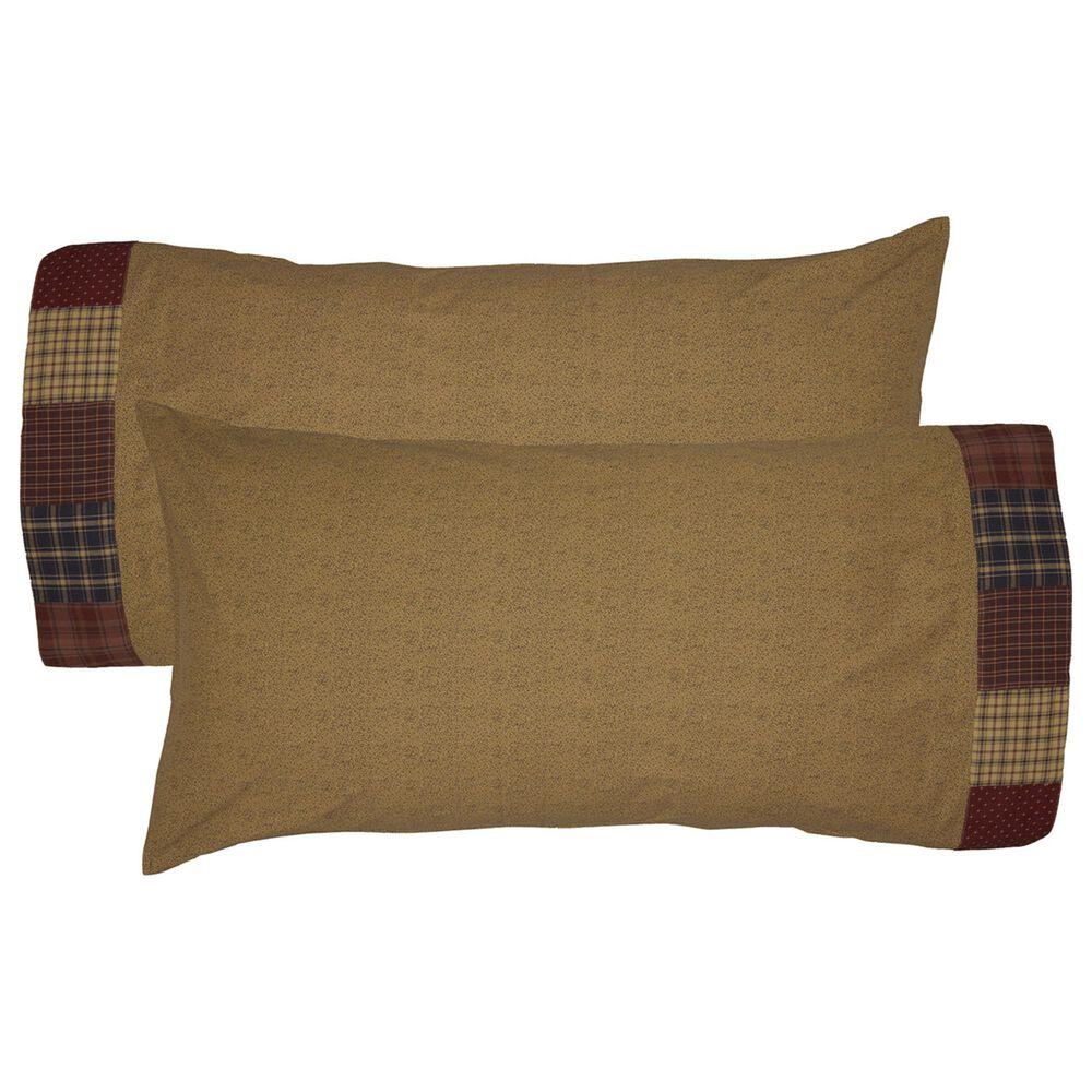 VHC Millsboro Primitive King Pillow Case Set in Khaki, , large