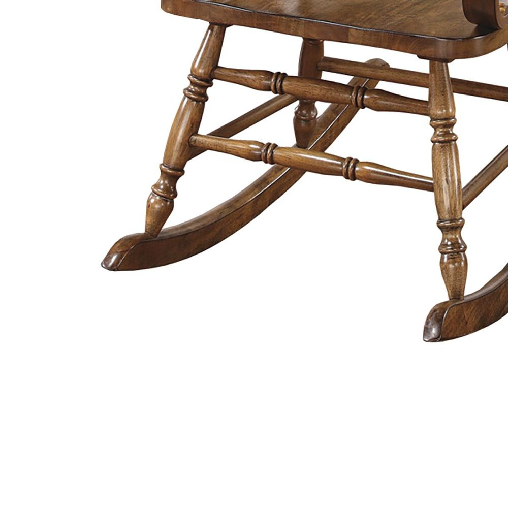Pacific Landing Rocking Chair in Warm Brown, , large