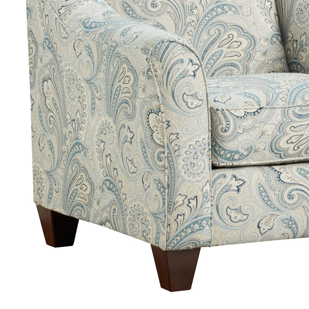 Arapahoe Home Accent Chair in Barilla Denim, , large