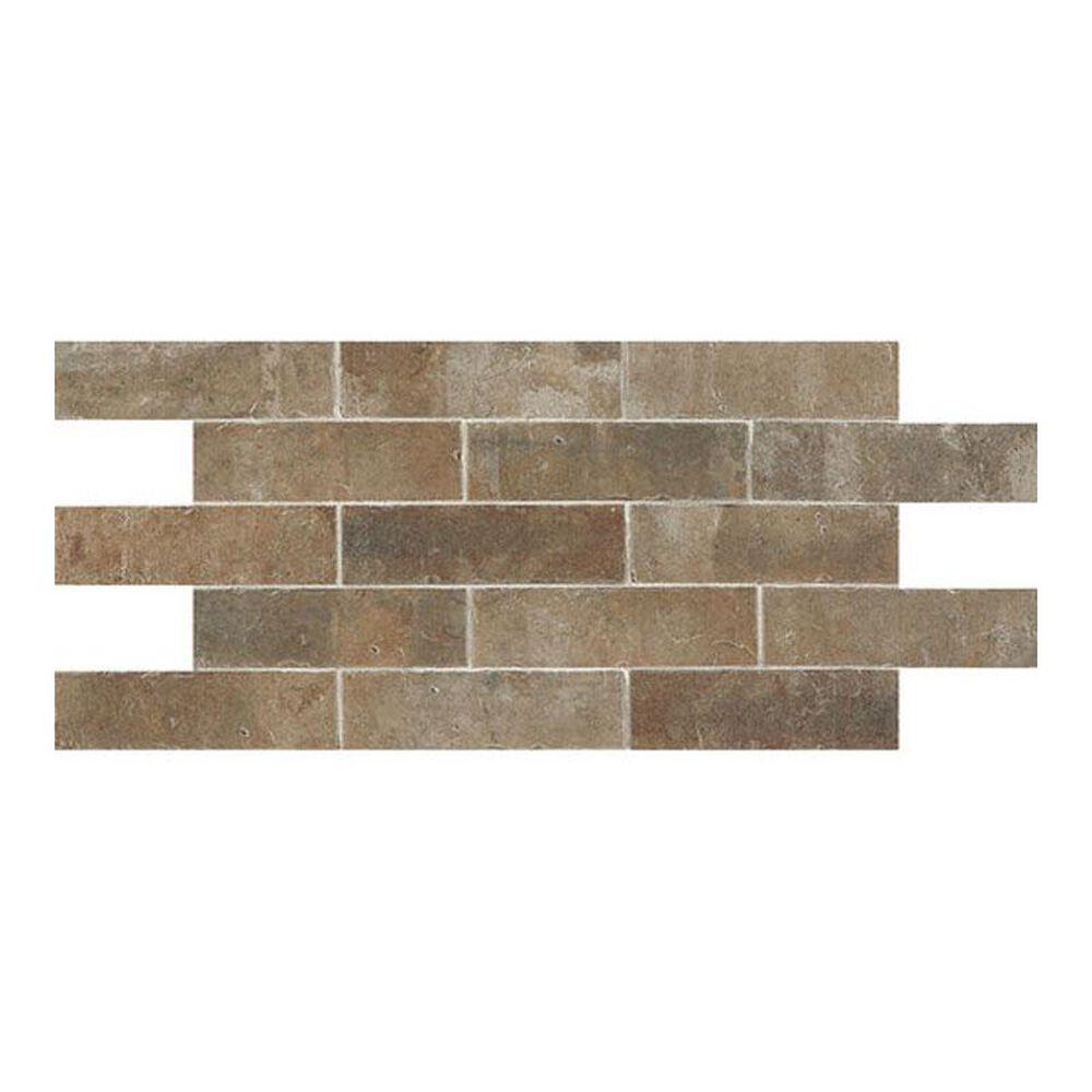 "Dal-Tile Brickwork Patio 2"" x 8"" Ceramic Tile, , large"