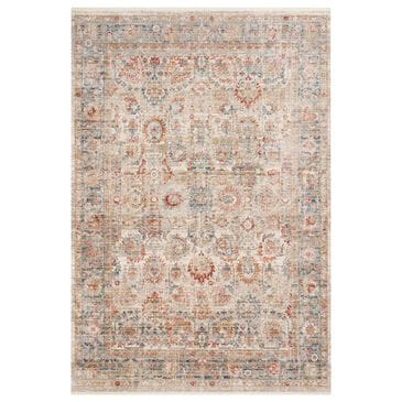 "Loloi Claire CLE-02 9'6"" x 13' Ivory and Ocean Area Rug, , large"