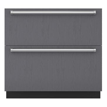 Sub Zero 5.9 Cu. Ft. Integrated Double Drawer Refrigerator/Freezer (Panel Required), , large