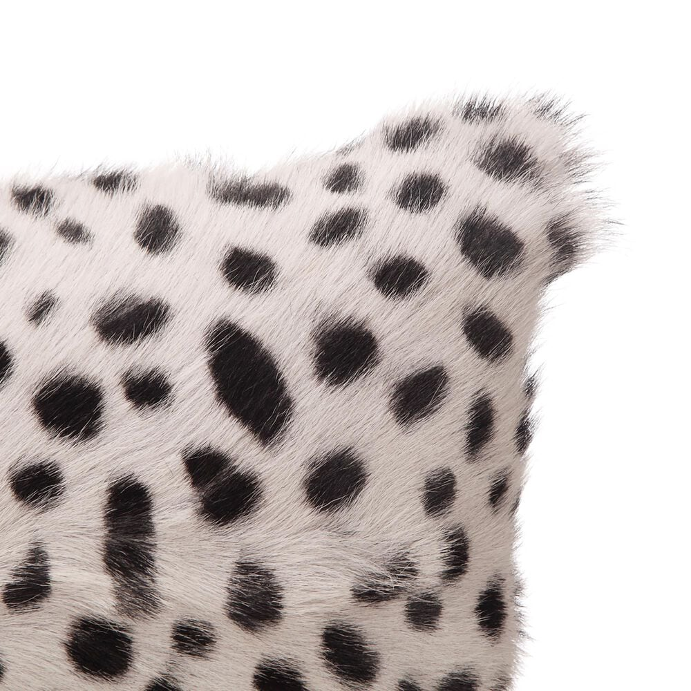 Moe's Home Collection Goat Fur Bolster in Grey, , large