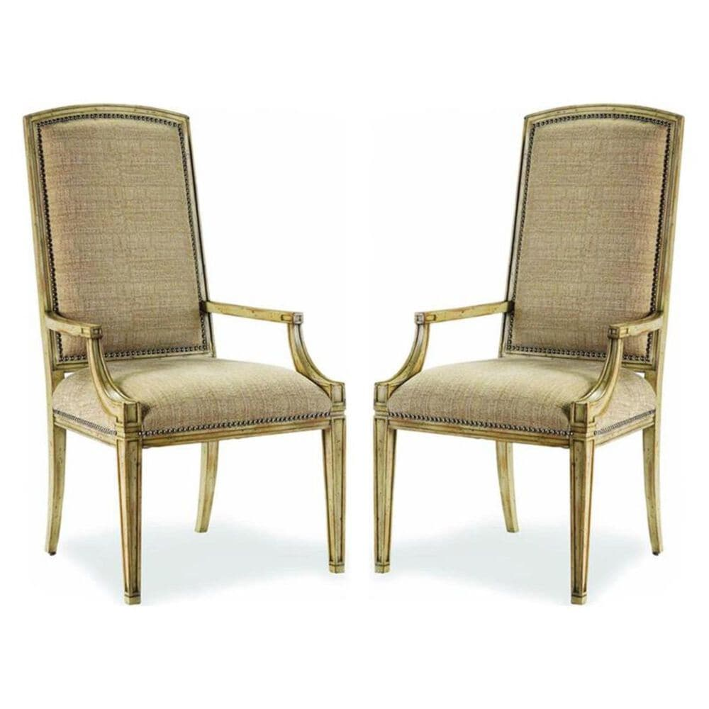 Hooker Furniture Sanctuary Mirage Arm Chair in Dune - Set of 2, , large