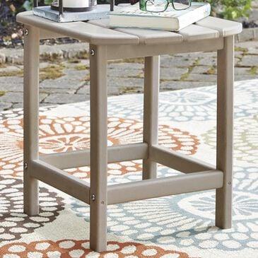 Signature Design by Ashley Sundown Treasure Rectangular End Table in Grayish Brown, , large