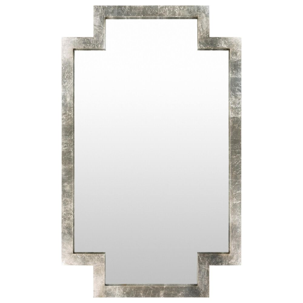 Surya Inc Dayton Large Wall Mirror in Antique Silver, , large