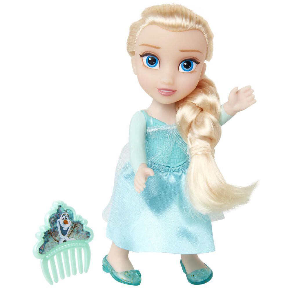 """Jakks Pacific 6"""" Petite Elsa Doll with Bodice and Comb, , large"""