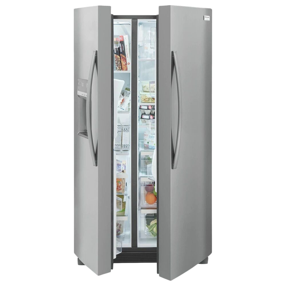 Frigidaire Gallery 22.3 Cu. Ft. Counter Depth Side-By-Side Refrigerator in Stainless Steel, , large