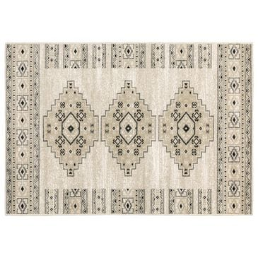 """Oriental Weavers Georgia Southwest 643A0 5'3"""" x 7'3"""" Ivory and Gray Area Rug, , large"""