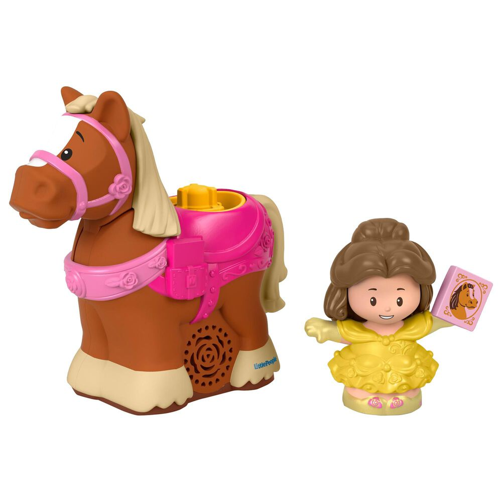 Little People Disney Princess Belle and Philippe, , large