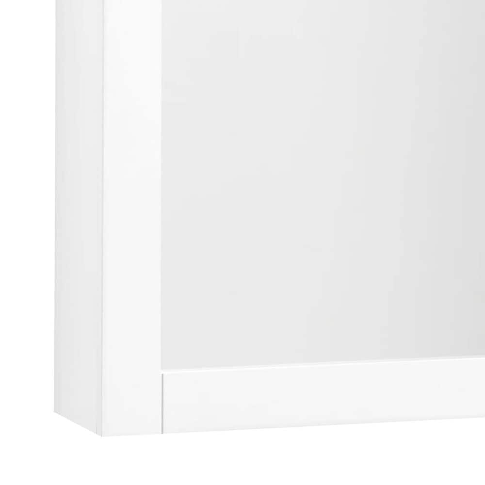 Crosley Furniture Savannah Wall Cabinet in White, , large