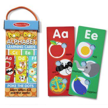 Melissa & Doug Poke-a-Dot Alphabet Learning Cards, , large
