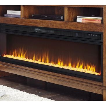 Signature Design by Ashley Wide Fireplace Insert in Black, , large