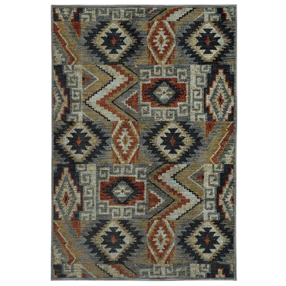 "Oriental Weavers Sedona 5937D 9'10"" x 12'10"" Blue Area Rug, , large"