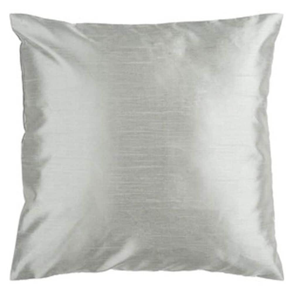 "Surya Inc 18"" x 18"" Pillow with Polyester Fill in Silver Seafoam, , large"