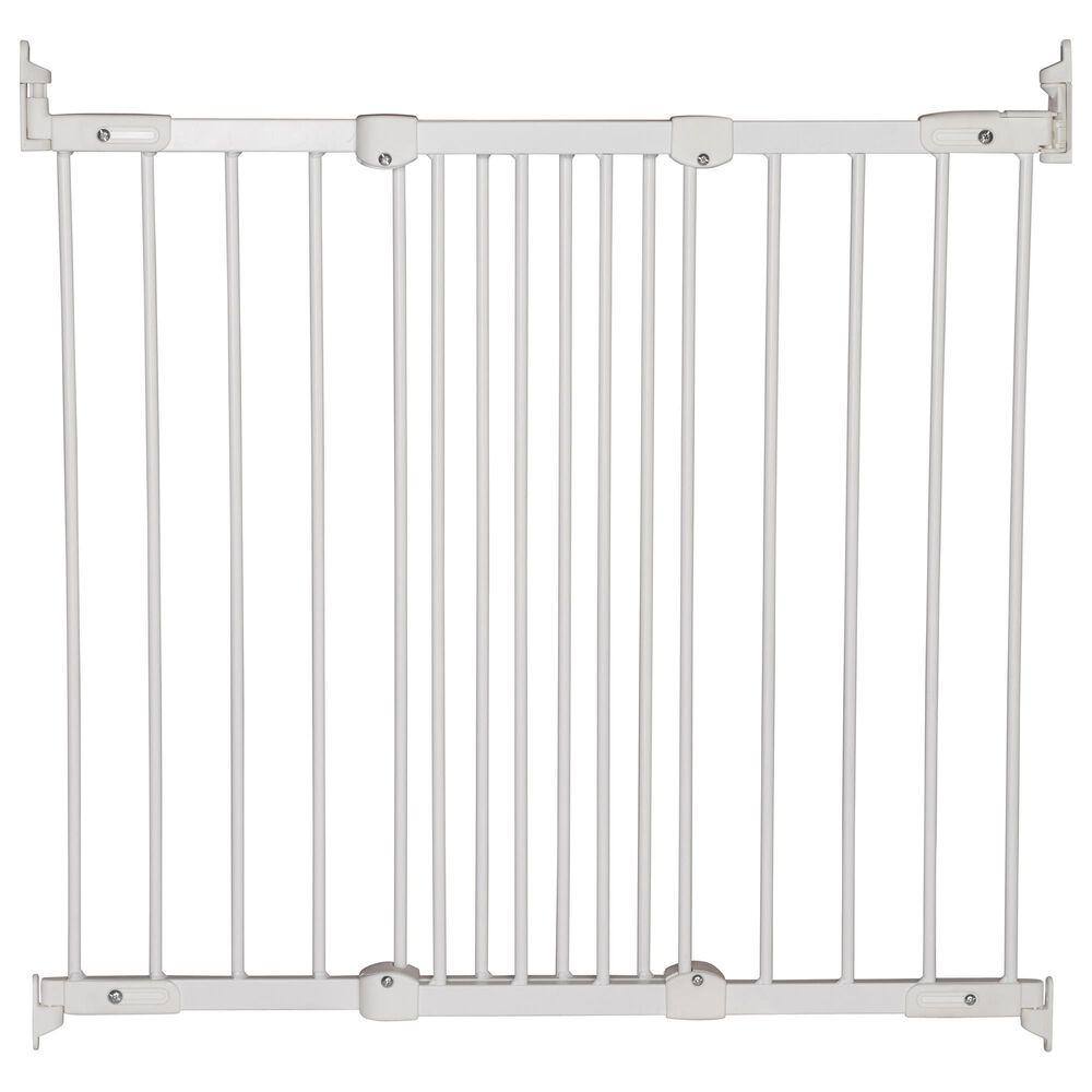"LA Baby BabyDan 26.4"" - 41.5"" Mount Safety Gate in White, , large"