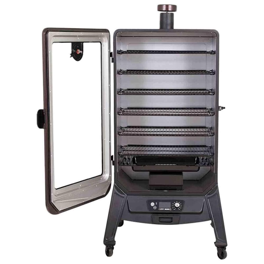 Pit Boss 7-Series Wood Vertical Pellet Smoker in Mahogany, , large