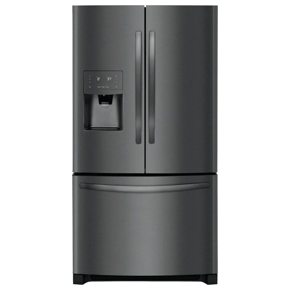 Frigidaire 2-Piece Kitchen Package with French Door Refrigerator - Black Stainless Steel, , large