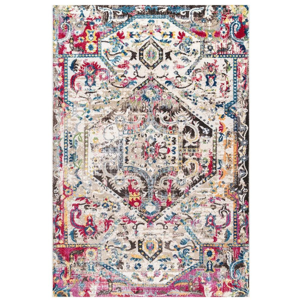 nuLOOM Valley MUVL04A 8' x 10' Multicolor Area Rug, , large