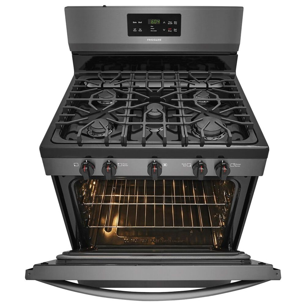 Frigidaire 30''  Free-Standing Gas Range in Black Stainless, , large