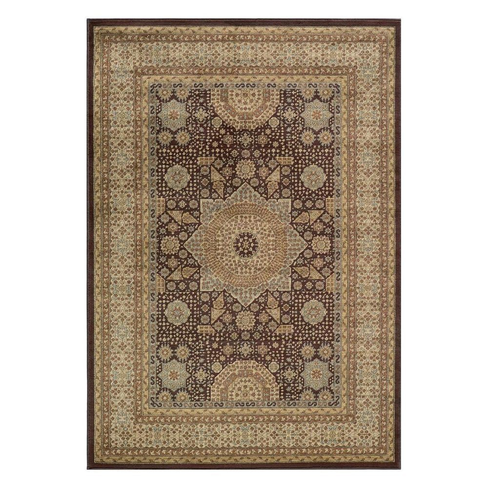 """Momeni Belmont BE-03 5'3"""" x 7'6"""" Brown Area Rug, , large"""