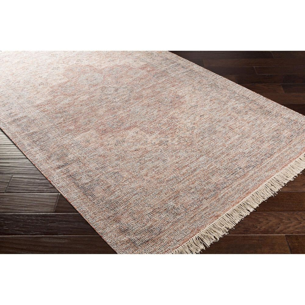"Surya Amasya 5' x 7'6"" Peach, Blue and Beige Area Rug, , large"