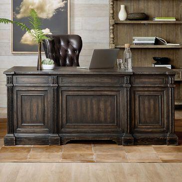 Hooker Furniture La Grange San Felipe Executive Desk in Brown, , large