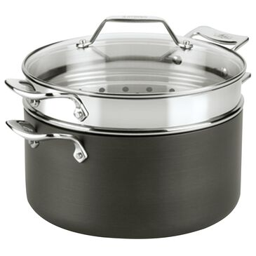 All-Clad 7 Qt Essentials Nonstick Multi-Pot in Black and Silver, , large