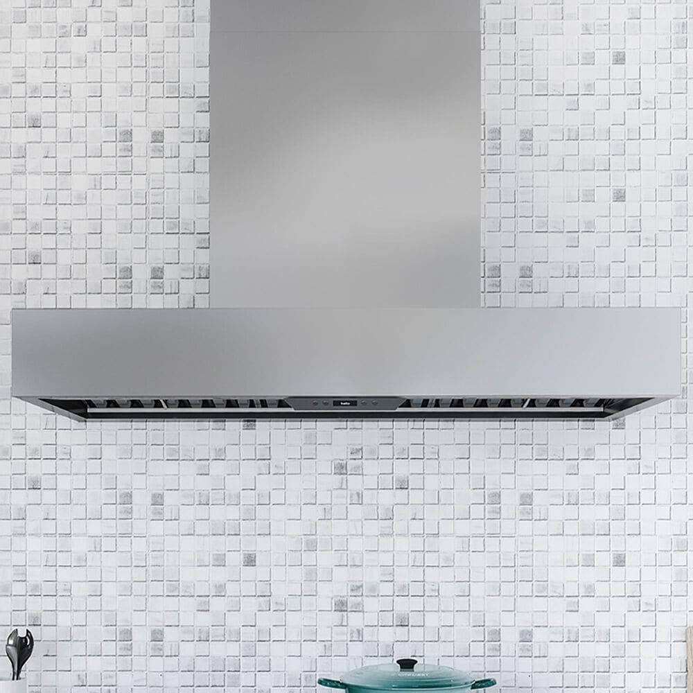 """Zephyr Roma Pro 48"""" Wall Range Hood in Stainless Steel, , large"""