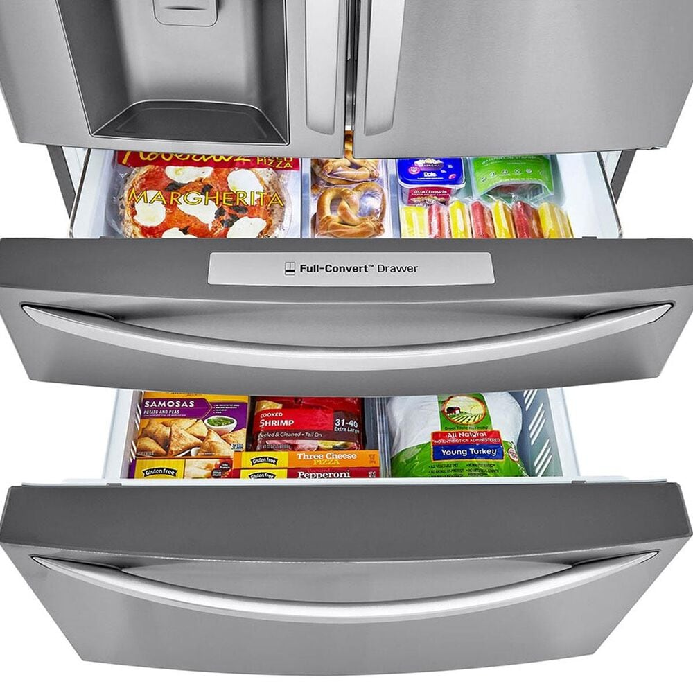 LG 30 Cu. Ft. Smart Wi-Fi Enabled Refrigerator with Craft Ice&#153 Maker in Stainless Steel , , large