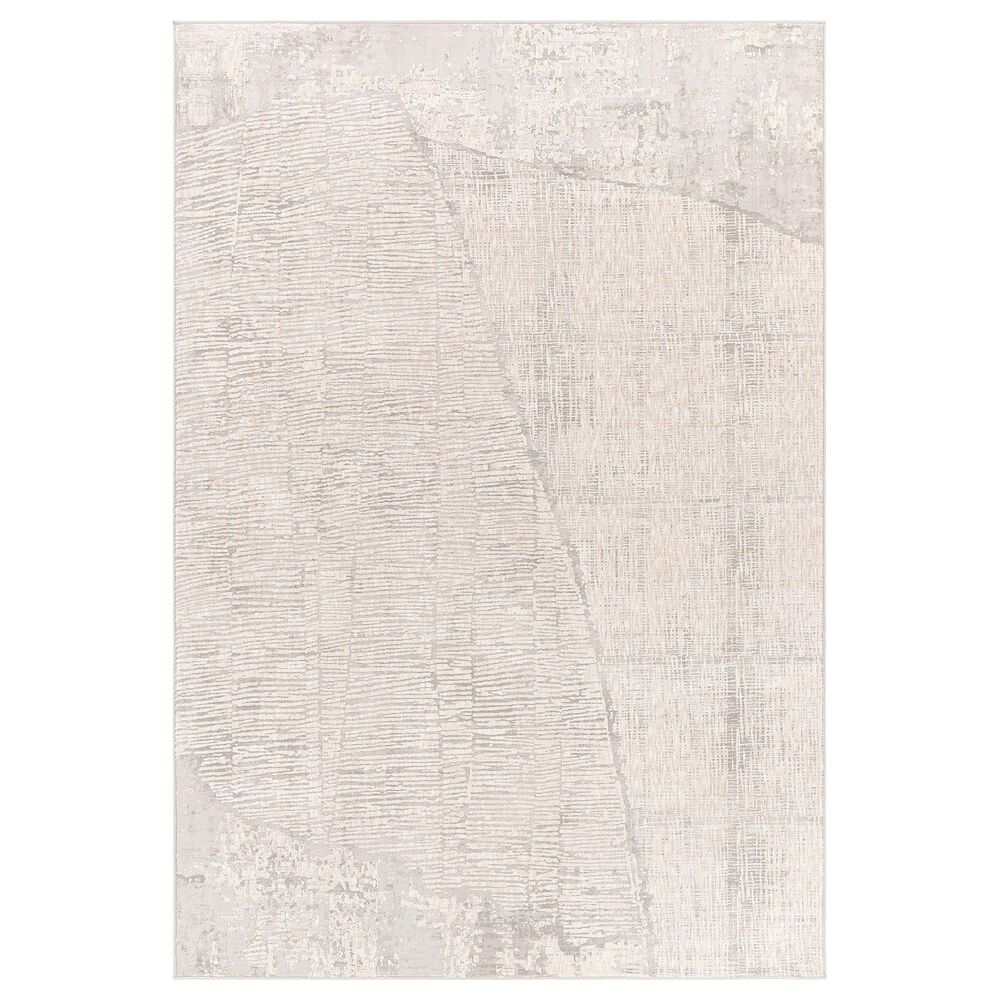 "Surya Carmel 2'7"" x 4' Gray, White, Taupe and Ivory Area Rug, , large"