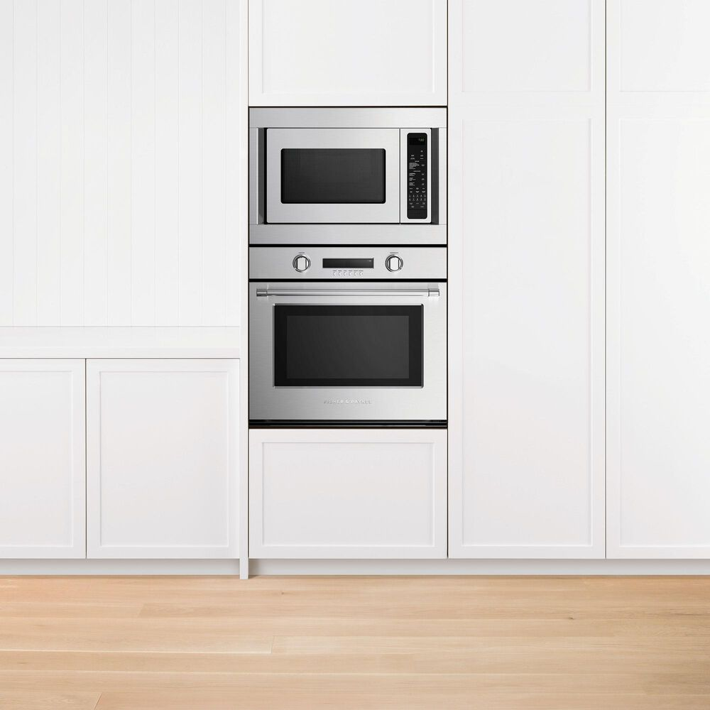 """Fisher and Paykel 1.5 Cu. Ft. 24"""" Convection Microwave Oven in Stainless Steel, , large"""