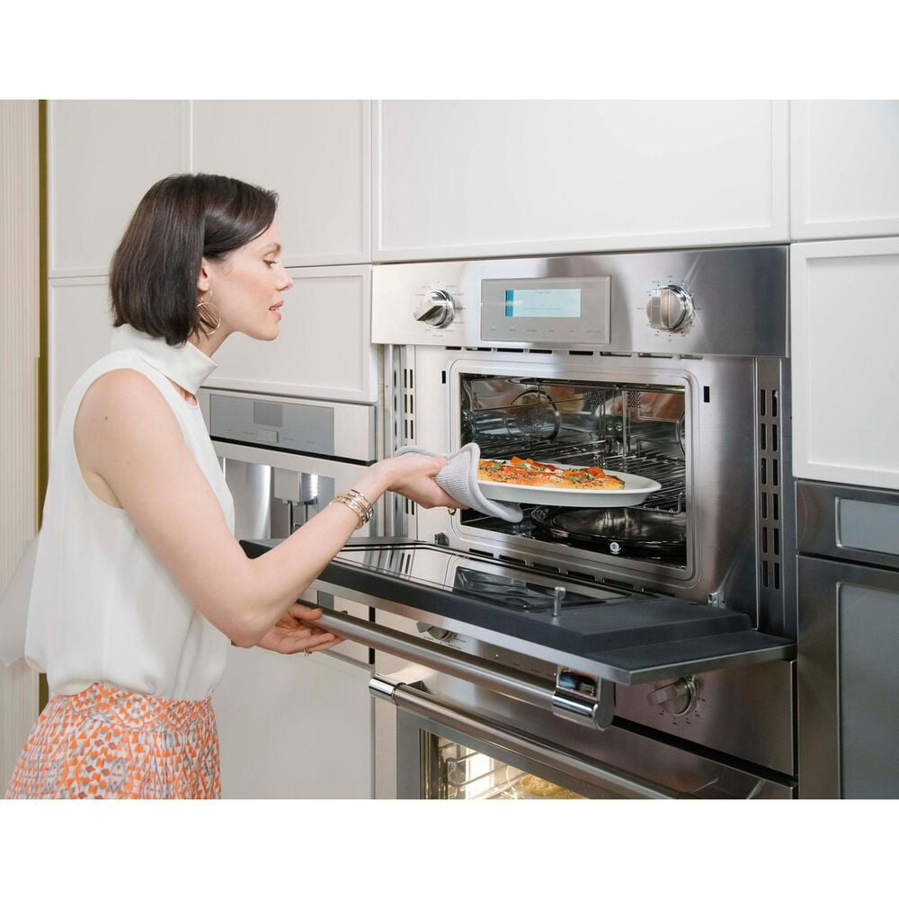 """Thermador 30"""" Professional Single Built-In Electric Oven with Convection in Stainless Steel, , large"""