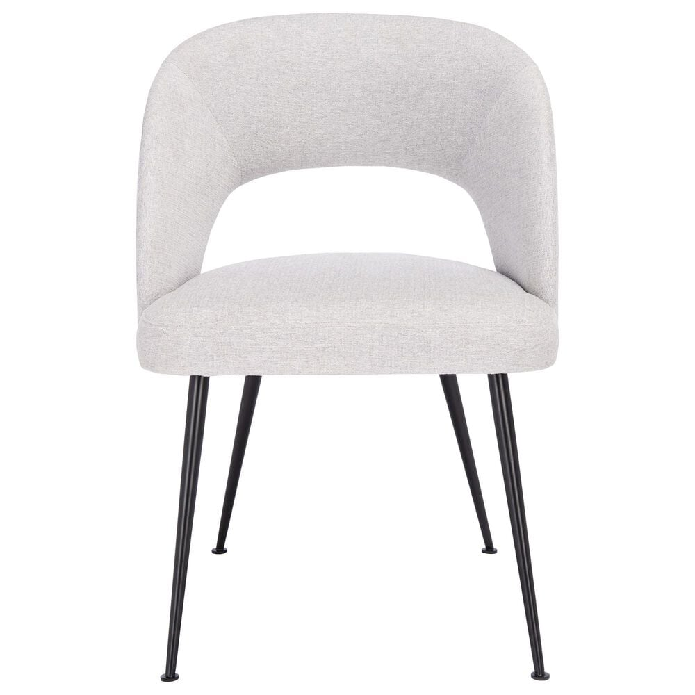 Safavieh Cromwell Dining Chair in Grey/Black, , large
