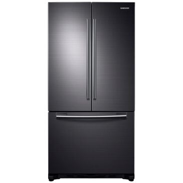 Samsung 20 Cu. Ft. French Door Refrigerator in Black Stainless Steel , , large
