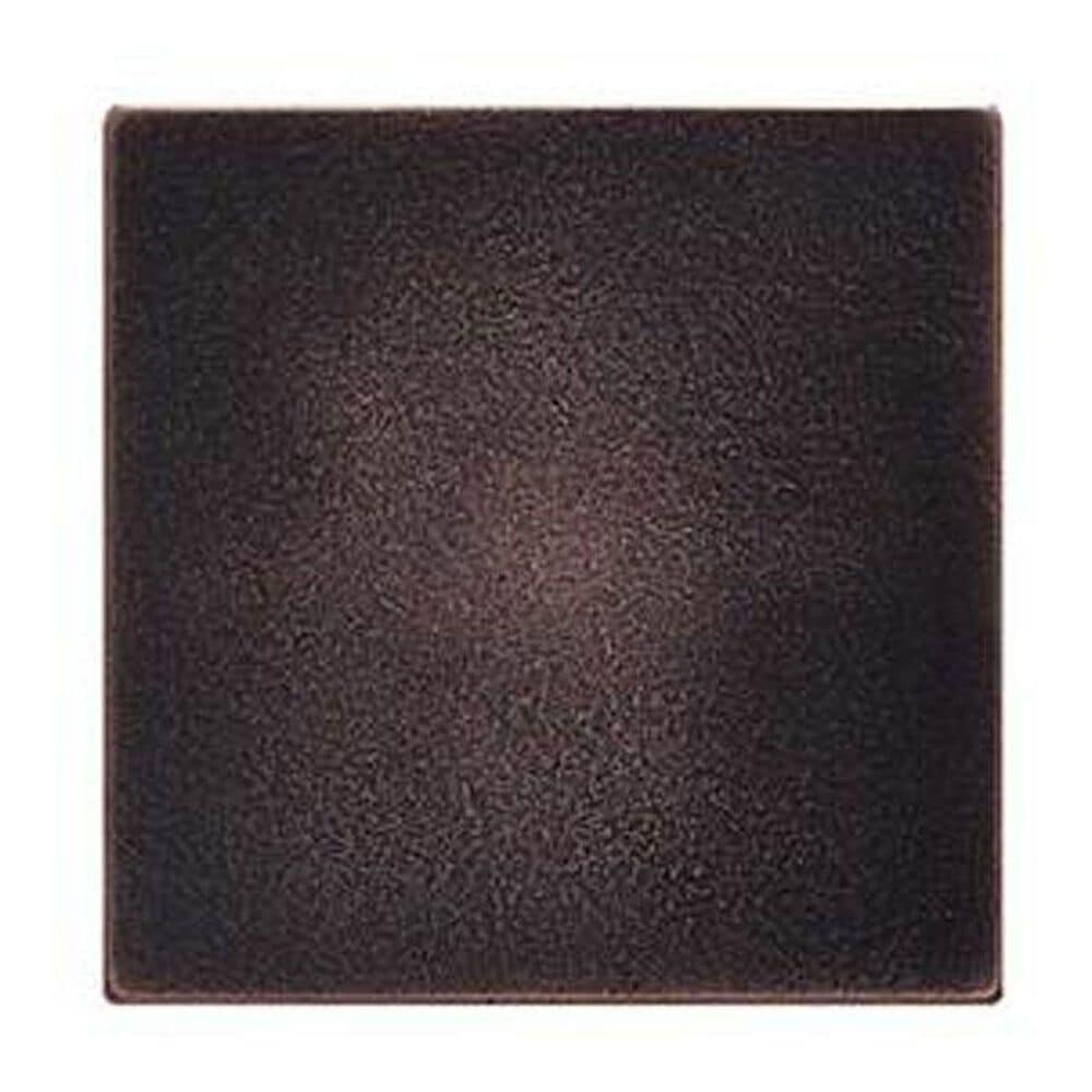 "Dal-Tile Ion Metals Oil Rubbed Bronze 4"" x 4"" Decorative Tile, , large"