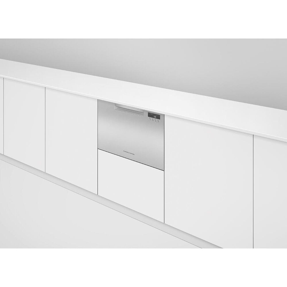 Fisher and Paykel Built-In Single Drawer Dishwasher with 7 Place Settings in Stainless Steel, , large