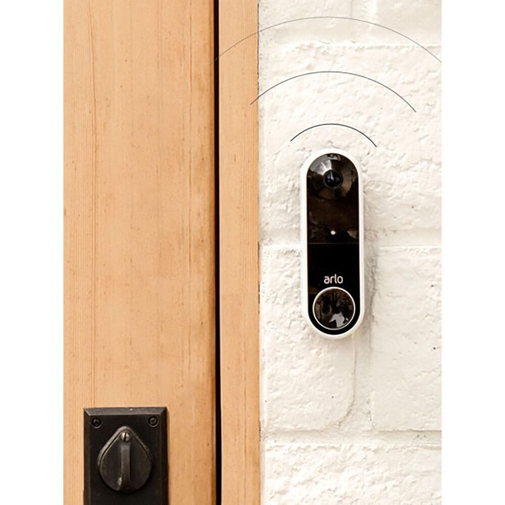 Arlo Essential Video Doorbell Wire-Free in White, , large