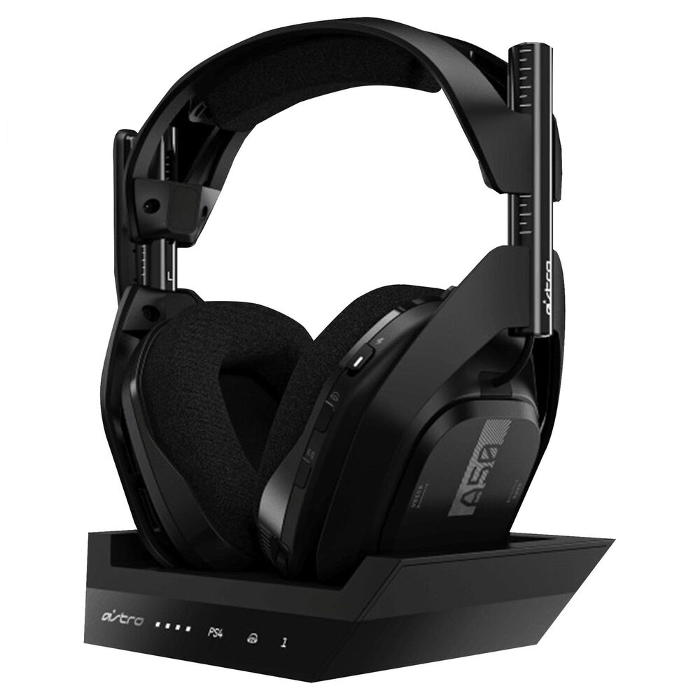 Astro A50 Wireless Headset with Base Station Compatible in Black - PlayStation 4, , large