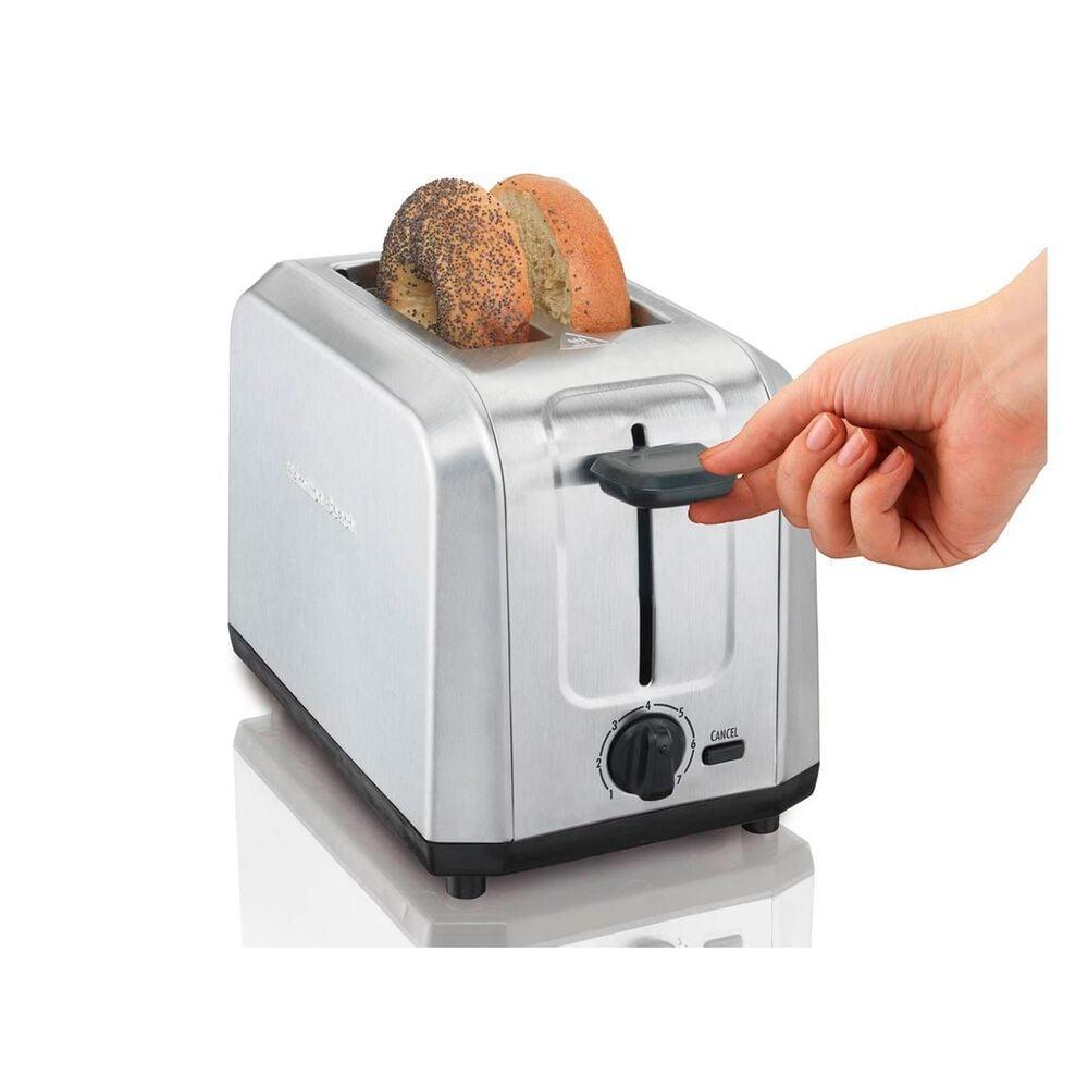 Hamilton Beach Brushed Stainless Steel 2-Slice Toaster, , large