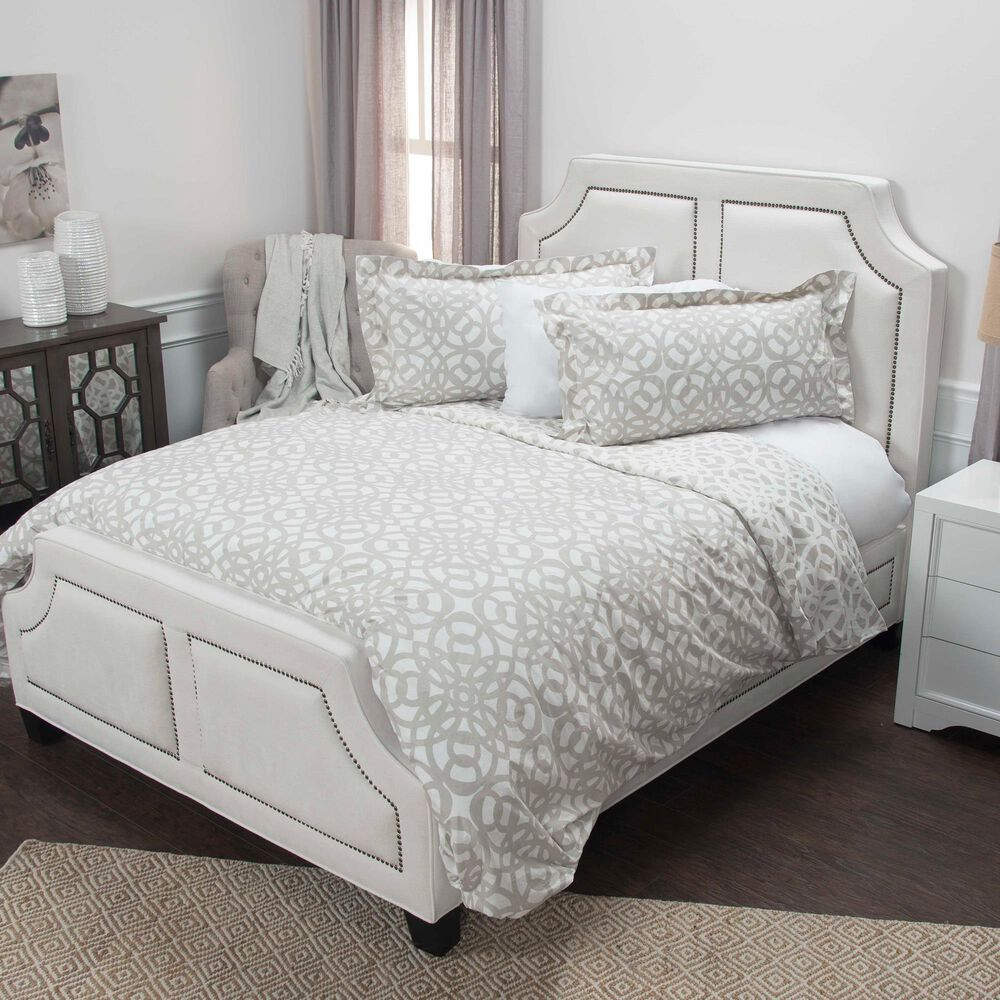 Rizzy Home Happy Together 11-Piece Queen Duvet Set in Natural, , large