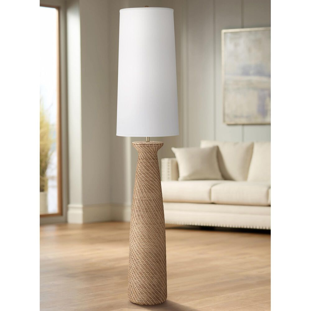 Pacific Coast Lighting Finley Floor Lamp in Brown Weave, , large