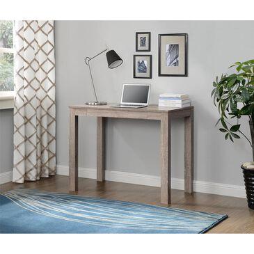 Living Essentials Delilah Parsons Desk with Drawer in Sonoma Oak, , large